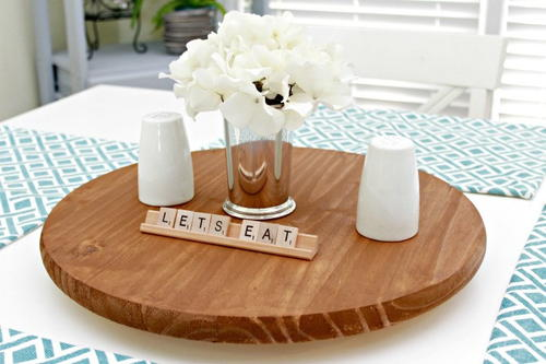 DIY Lazy Susan for Under 20