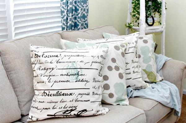 Easy No Sew Diy Pillow Covers Diyideacenter Com
