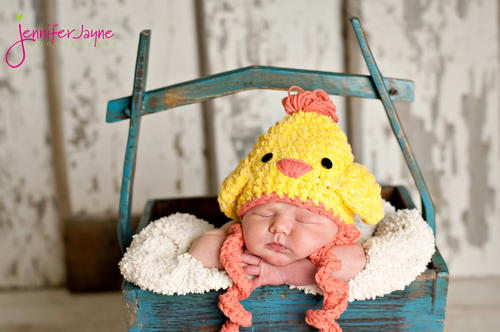 Chicken Hat Crochet Pattern  2f64cb6fdd3