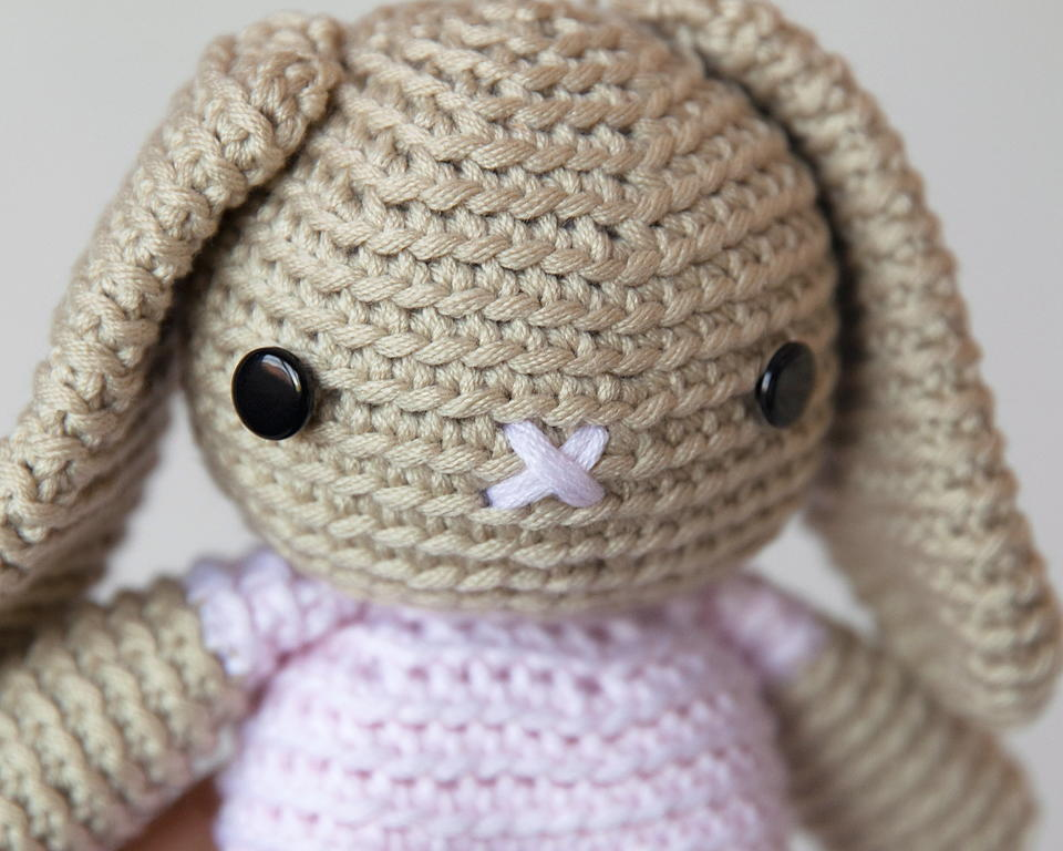 Large Amigurumi Free Patterns : Breanna Bunny Amigurumi Pattern AllFreeCrochet.com