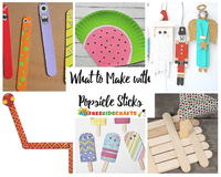 What to Make with Popsicle Sticks: 50+ Fun Crafts for Kids