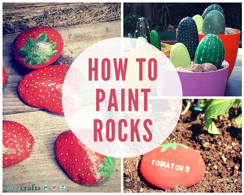 How To Paint Rocks This Summer Favecrafts Com