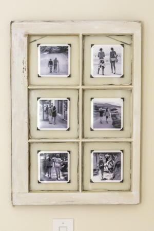 Window Frame Art Projects