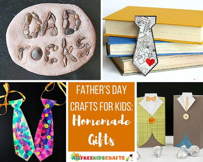 50 Father S Day Crafts For Kids Homemade Gifts Allfreekidscrafts Com