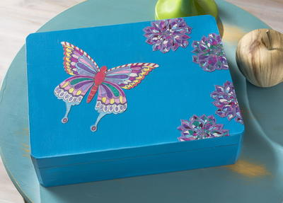 Coloring Page Jewelry Box