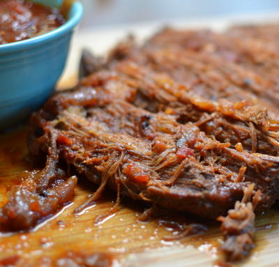 Dutch Oven Barbecue Brisket