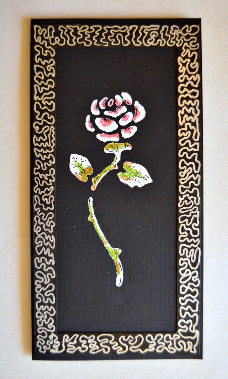 spectacular rose diy birthday card  allfreepapercrafts