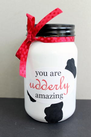 Udderly Amazing Gift in a Jar