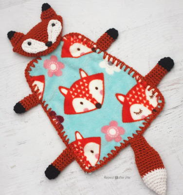 Crafty Fox Crochet Lovey