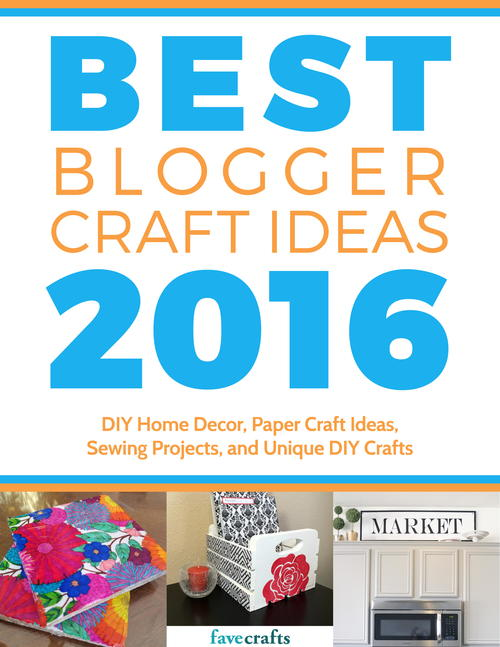 Craft project ideas for the home