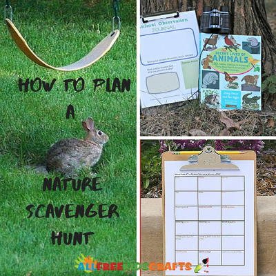 How to Plan a Nature Scavenger Hunt
