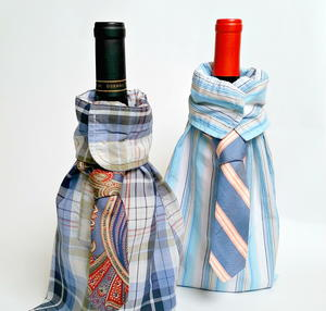 Dapper Dad Wine Bag