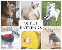 39 Patterns for Pet Clothing and More Pet Crafts