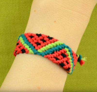 Watermelon Friendship Bracelet