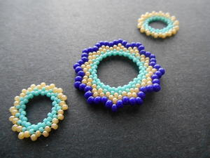 Circular Peyote Stitch Technique