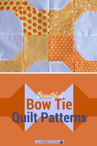 9 Beautiful Bow Tie Quilt Patterns