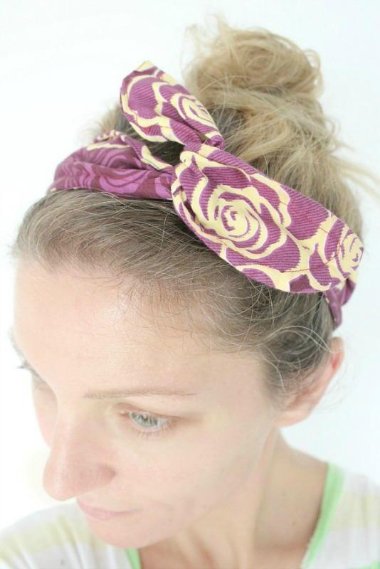 Wire And Fabric Diy Headband Favecrafts Com