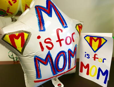 Mother's Day Balloon & Card