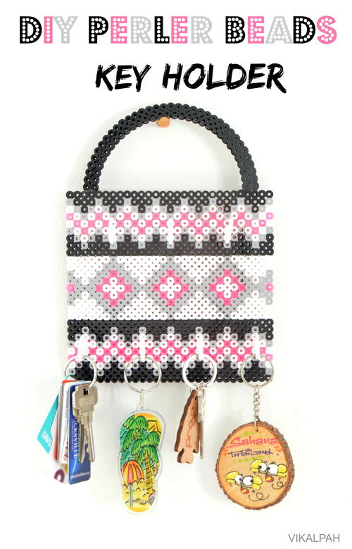 Key Holder Perler Bead Pattern