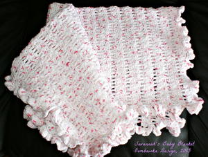 Tickled Pink Baby Afghan