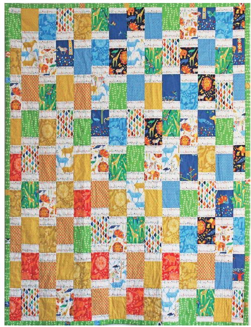 African Jungle Bargello Quilt Pattern