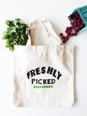 Farmers Market DIY Bag