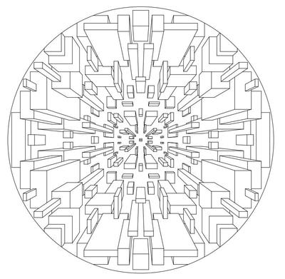 Marvelous Mandala Coloring Pages