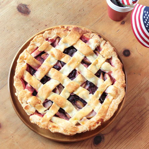 Americana Easy Cherry Pie Recipe