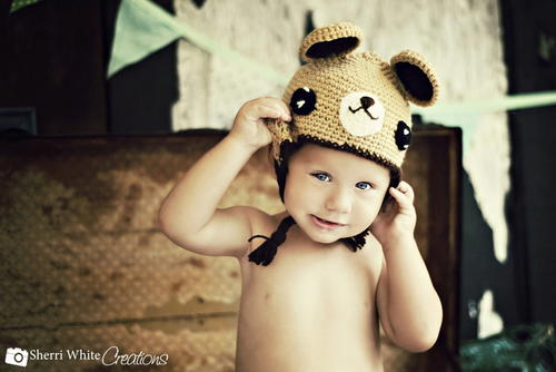 Toddler Teddy Bear Hat
