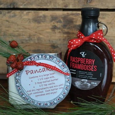 Pancake Gift in a Jar with Free Printable Label