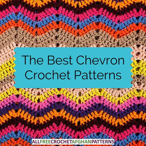 The Best Chevron Crochet Patterns Allfreecrochetafghanpatternscom
