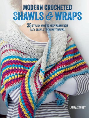 Modern Crocheted Shawls & Wraps
