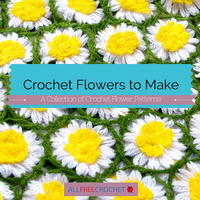 94 Crochet Flowers to Make
