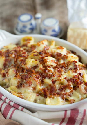 Best Ever Bacon Mac and Cheese for Two