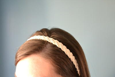 Easy Rope DIY Headband