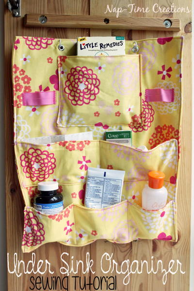 Under the Sink DIY Organizer