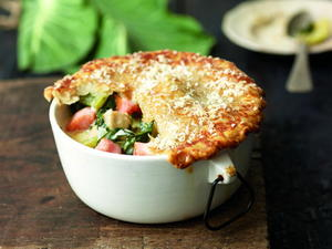 Collard Greens Pot Pies