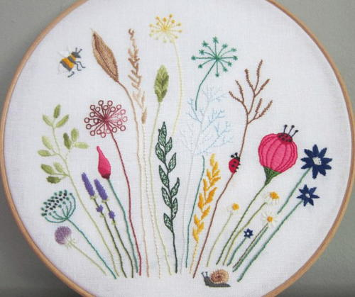 Meadowlands Free Embroidery Pattern