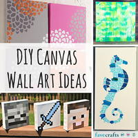 31 DIY Canvas Wall Art Ideas
