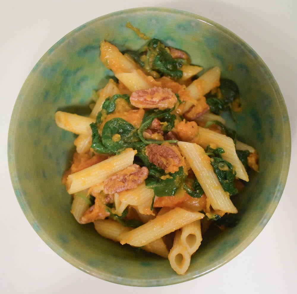 Slow Cooker Butternut Squash and Kale Pasta | AllFreeSlowCookerRecipes ...