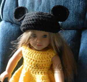 Mickey Mouse Ears for American Girl Doll