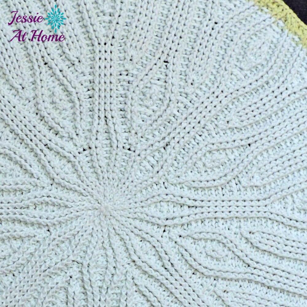 Easy mandala crochet rug for Easy rugs