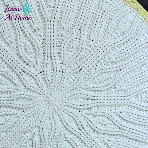 Easy Mandala Crochet Rug Favecraftscom