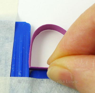 How To Quill Paper Joining Corners