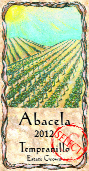 Abacela Barrel Select Tempranillo 2012