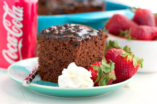 Shortcut Coca Cola Cake
