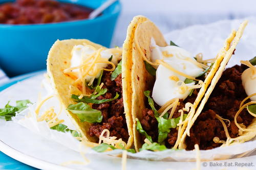 Ground Beef Tacos in 20 Minutes
