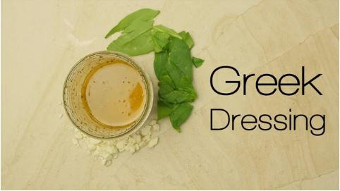 How to Make Greek Dressing