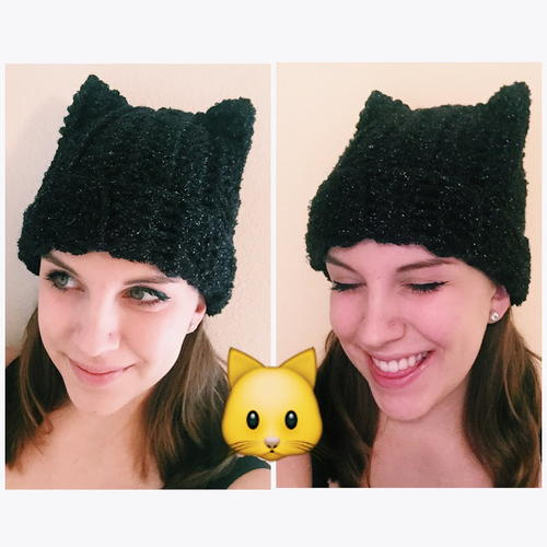 Kitty Cat Beanie Hat