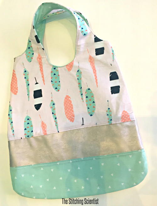 Fabric Scraps Tote Bag